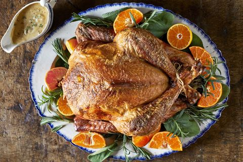 thanksgiving seasoned roasted turkey recipe