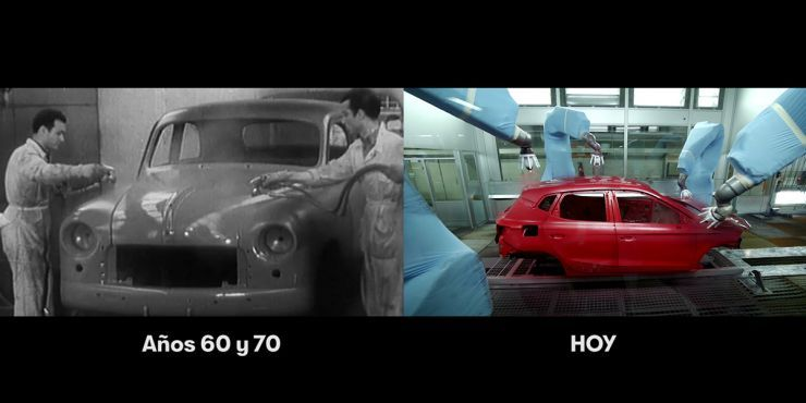 Seat 50 años haciendo coches