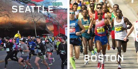 Super Bowl: Seattle vs Boston Running Cities