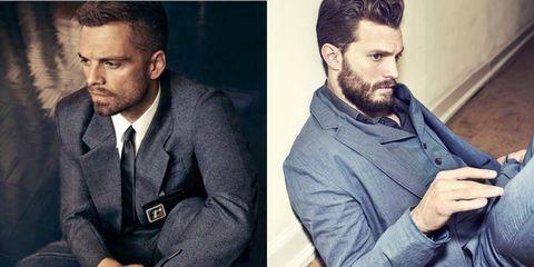 Hair, Facial hair, Beard, Chin, Moustache, White-collar worker, Suit,