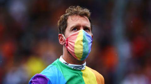 Vettel e Hamilton e i look arcobaleno per l'Lgbtq+ in Ungheria