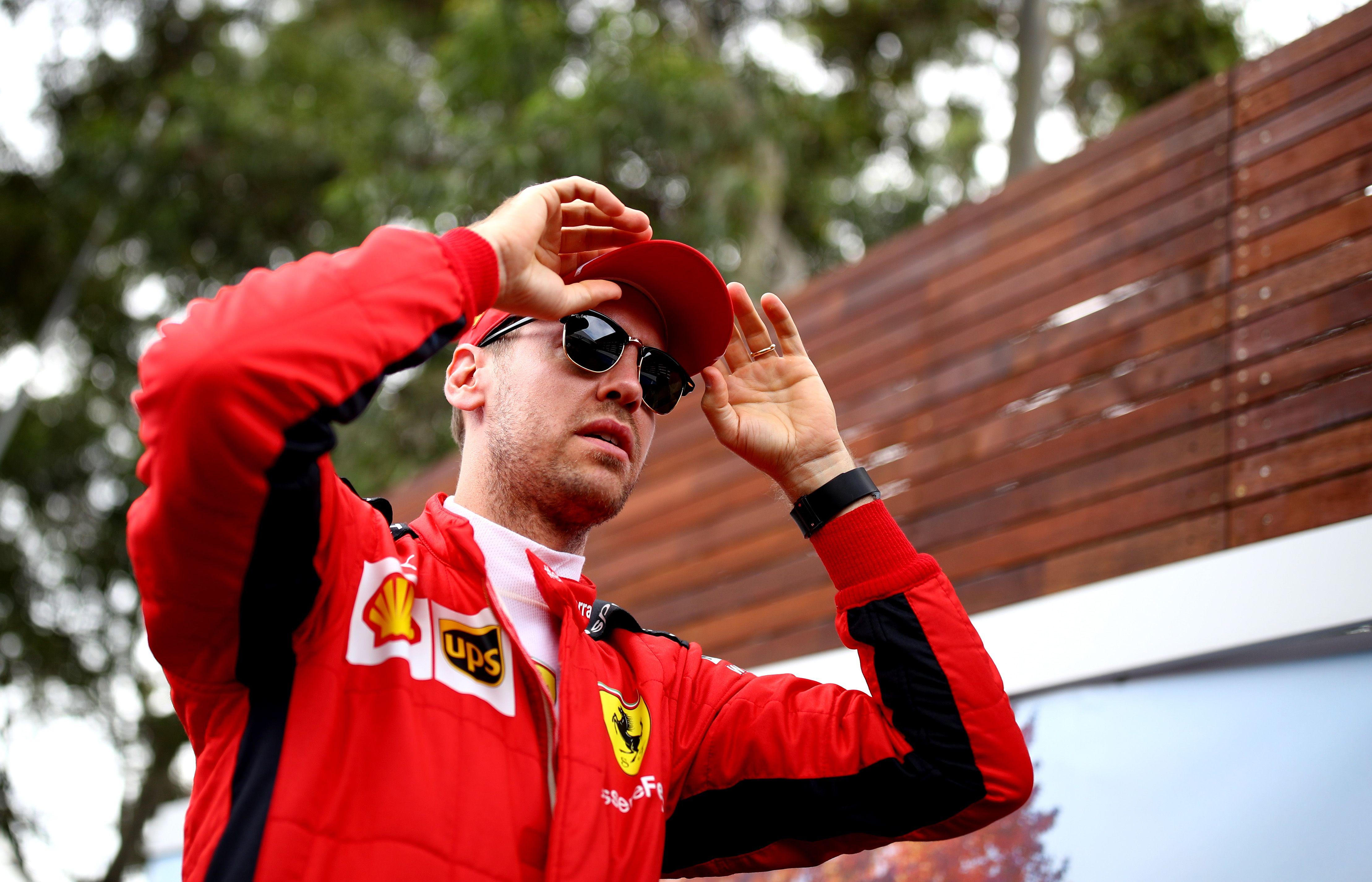 Sebastian Vettel Leaves Ferrari F1 Vettel Ferrari Split 2020