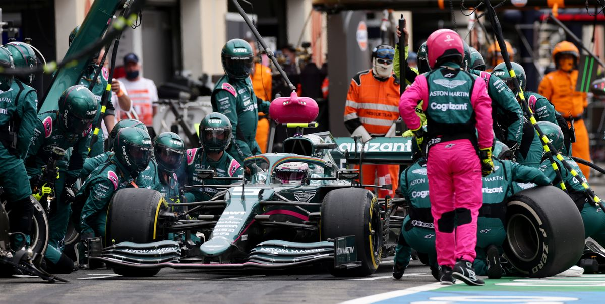 This Time, It's Aston Martin's Turn to Point Fingers Over F1 Tire Pressure Wars