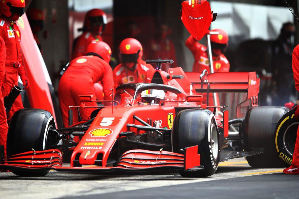 Sebastian Vettel Suggests Ferrari F1 Is Playing Favorites With Charles Leclerc