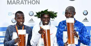 Eliud Kipchoge y las razones para correr un maratón