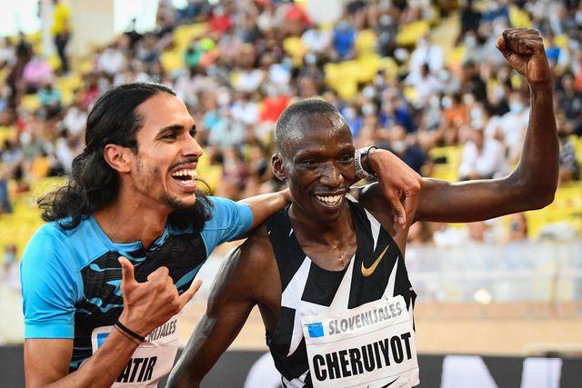 mohamed katir, record de españa de 1500 metros de fermin cacho