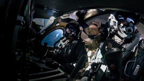 virgin galactic space flight crew