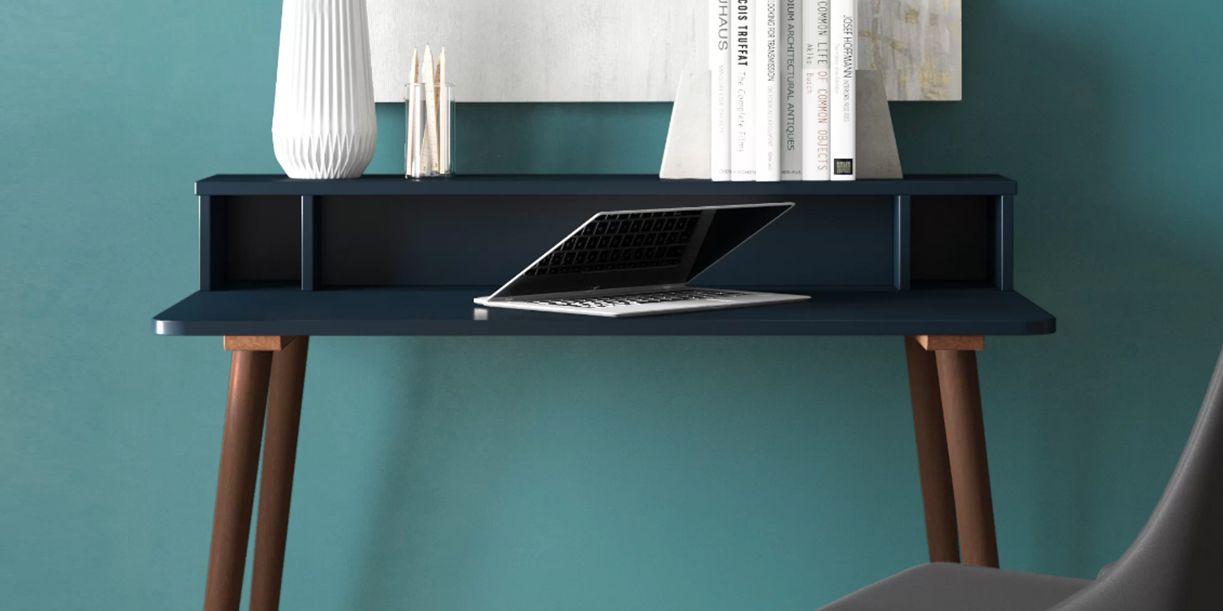 Picture of: 10 Best Secretary Desks For Small Spaces Cute Secretary Desks