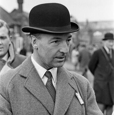 John Profumo at Sandown Park Racecourse