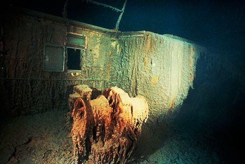 Section of Titanic