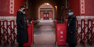 the palace museum forbidden city beijing china coronavirus closed