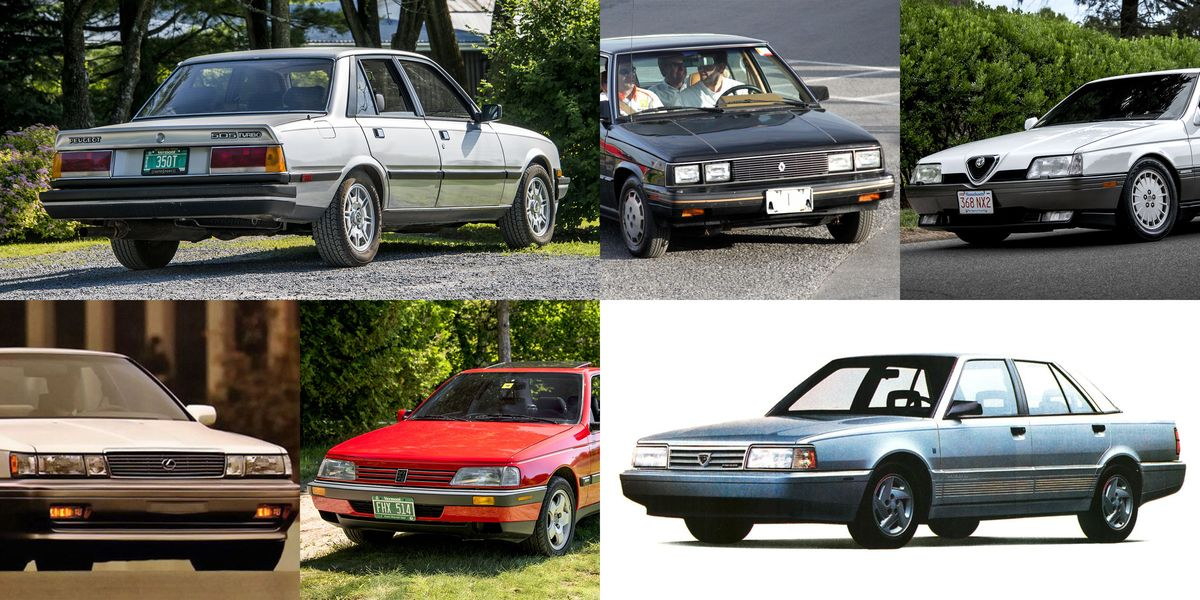 10 Sedans You Almost Never See These Days