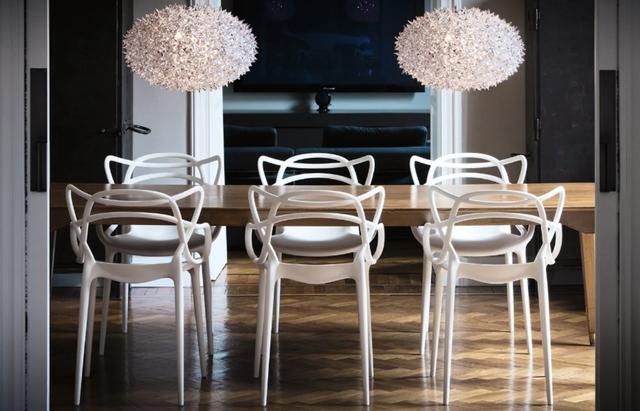 Room, Wood, Interior design, Floor, Furniture, Table, Flooring, Chair, Light fixture, Interior design,
