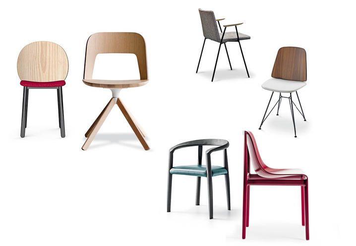 6 sedie design di tendenza per l'arredamento 2017