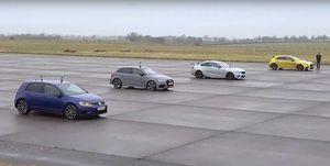drag race compactos deportivos