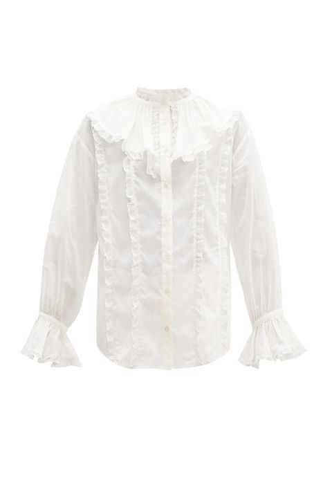 frilled collars