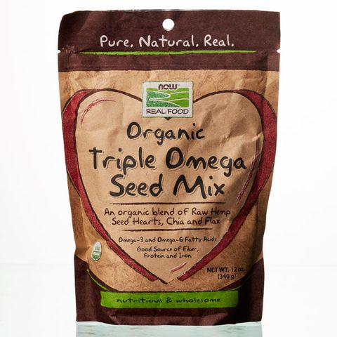 NOW Real Food Organic Triple Omega Seed Mix
