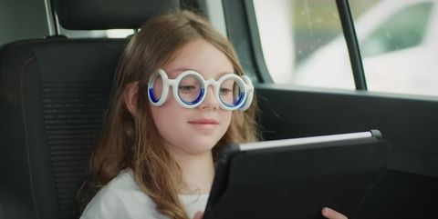 Eyewear, Hair, Glasses, Face, Vehicle door, Sunglasses, Vision care, Beauty, Blond, Driving,