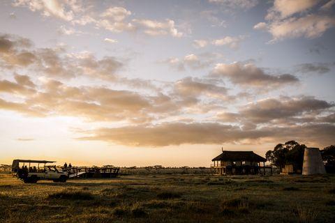 Sky, Cloud, Sunset, Morning, Horizon, Evening, Landscape, Sunrise, Rural area, Ecoregion,