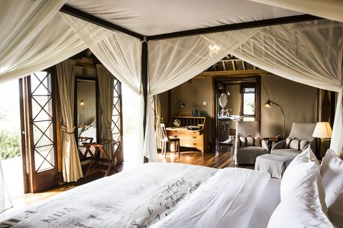Bedroom, Room, Property, Canopy bed, Furniture, Bed, four-poster, Building, Ceiling, Interior design,