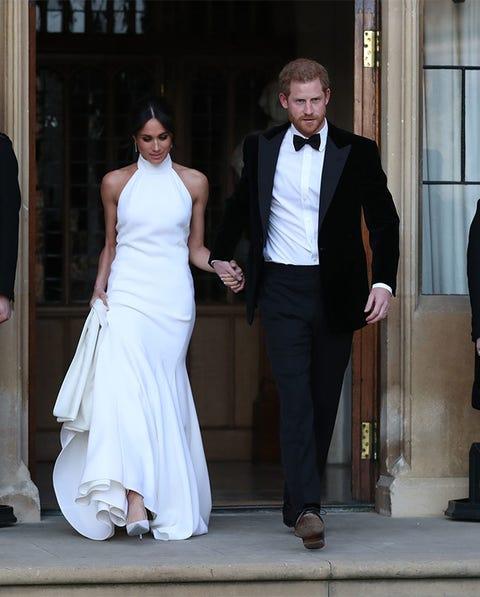 Meghan Markle, segundo vestido de novia,Stella McCartney