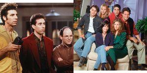 Seinfeld Friends mejor serie