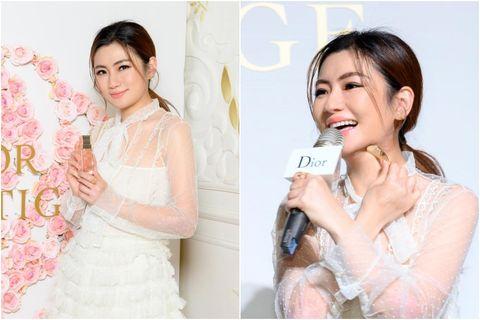 Selina擔任台灣首位迪奧花蜜美妍大使