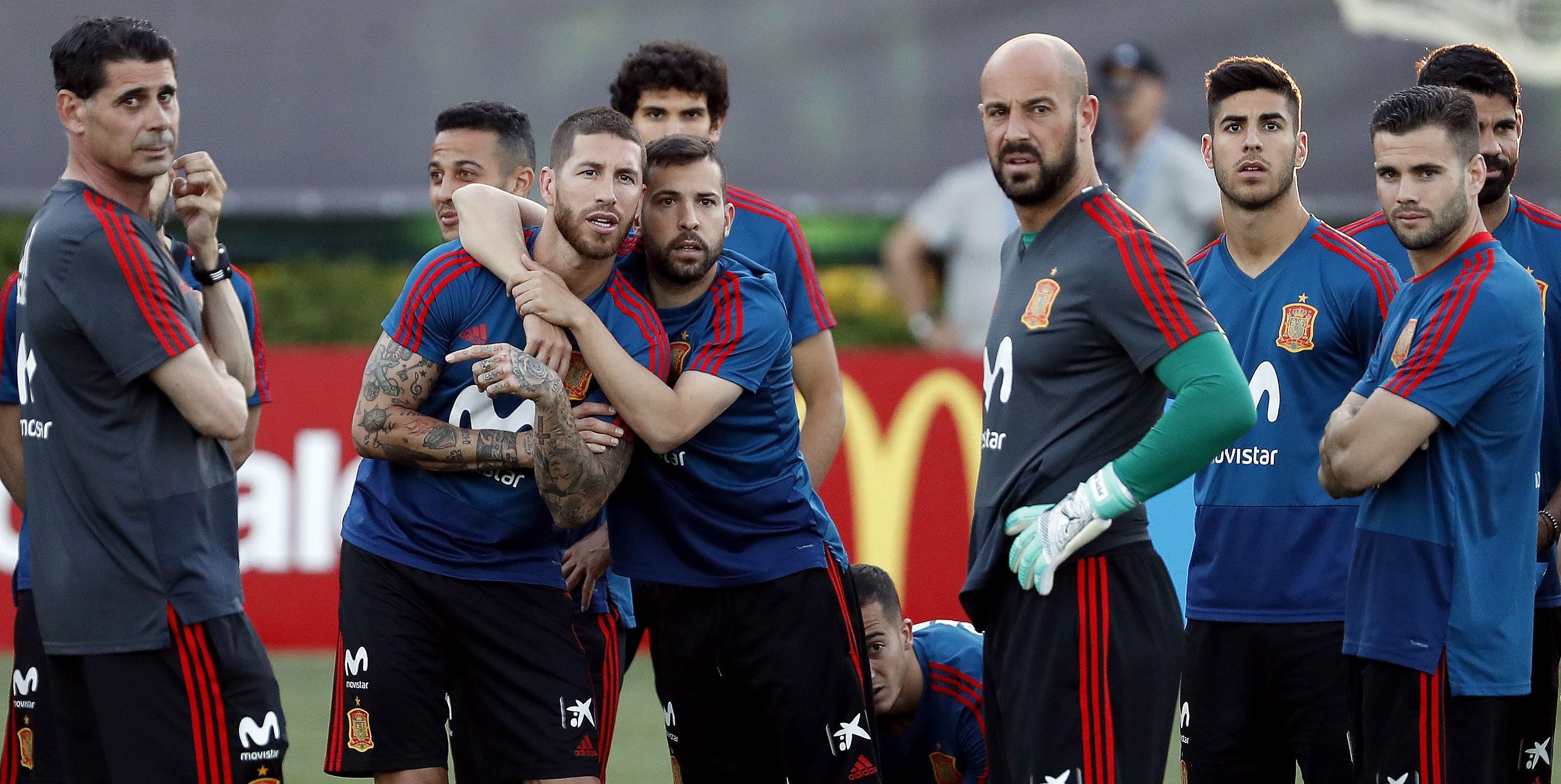 selección española campeona mundial 2018 rusia