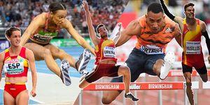 selección  española atletismo glasgow