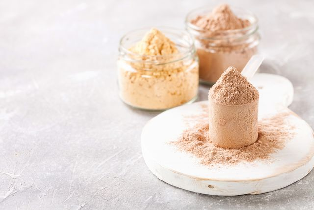 selective protein in powder