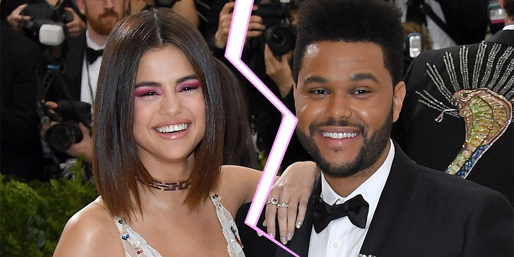 Image result for Selena Gomez and The Weeknd have reportedly broken up