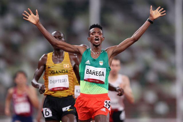 selemon barega, 10000 metros lisos, campeon olimpico
