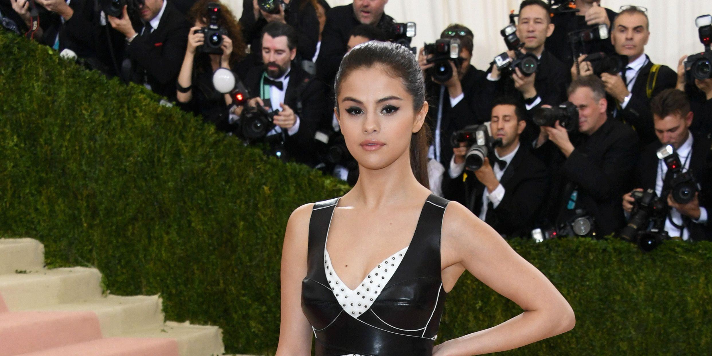 Selena Gomez over social media