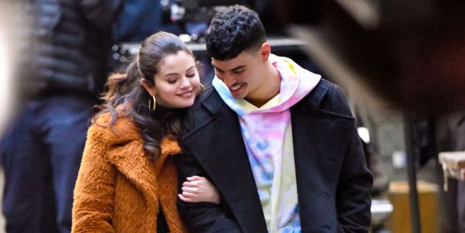Selena Gomez's Co-Star Costar Aaron Dominguez Responds To Fans Who Told Him to Stay Away from Her
