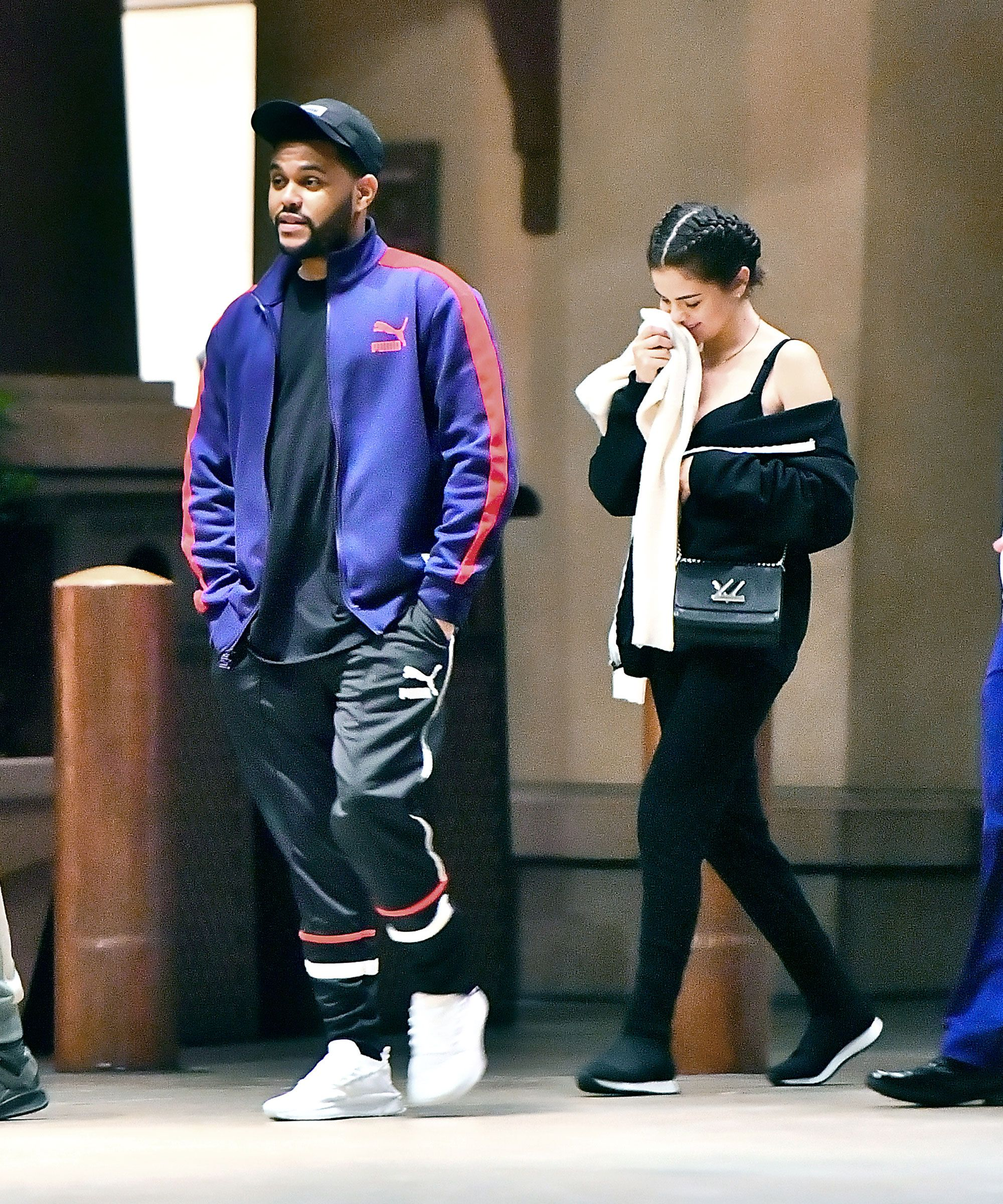 75ddd268ad8 Selena Gomez Wore Sweatpants on a Date With the Weeknd and Looked So  On-Point