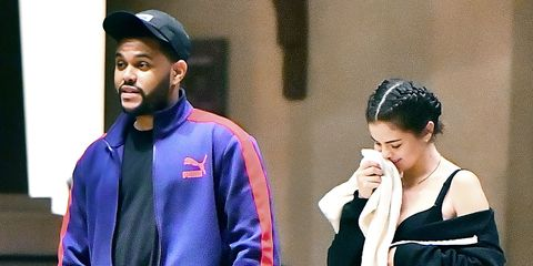 Selena Gomez the Weeknd Date Outfit