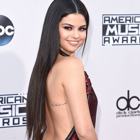 selena gomez tattoos