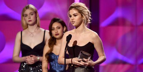 Selena Gomez cries during Billboard Awards speech