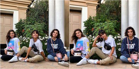 Selena Gomez Connor and Caro Franklin