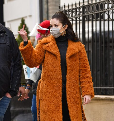 selena gomez shooting in nyc on february 24, 2021
