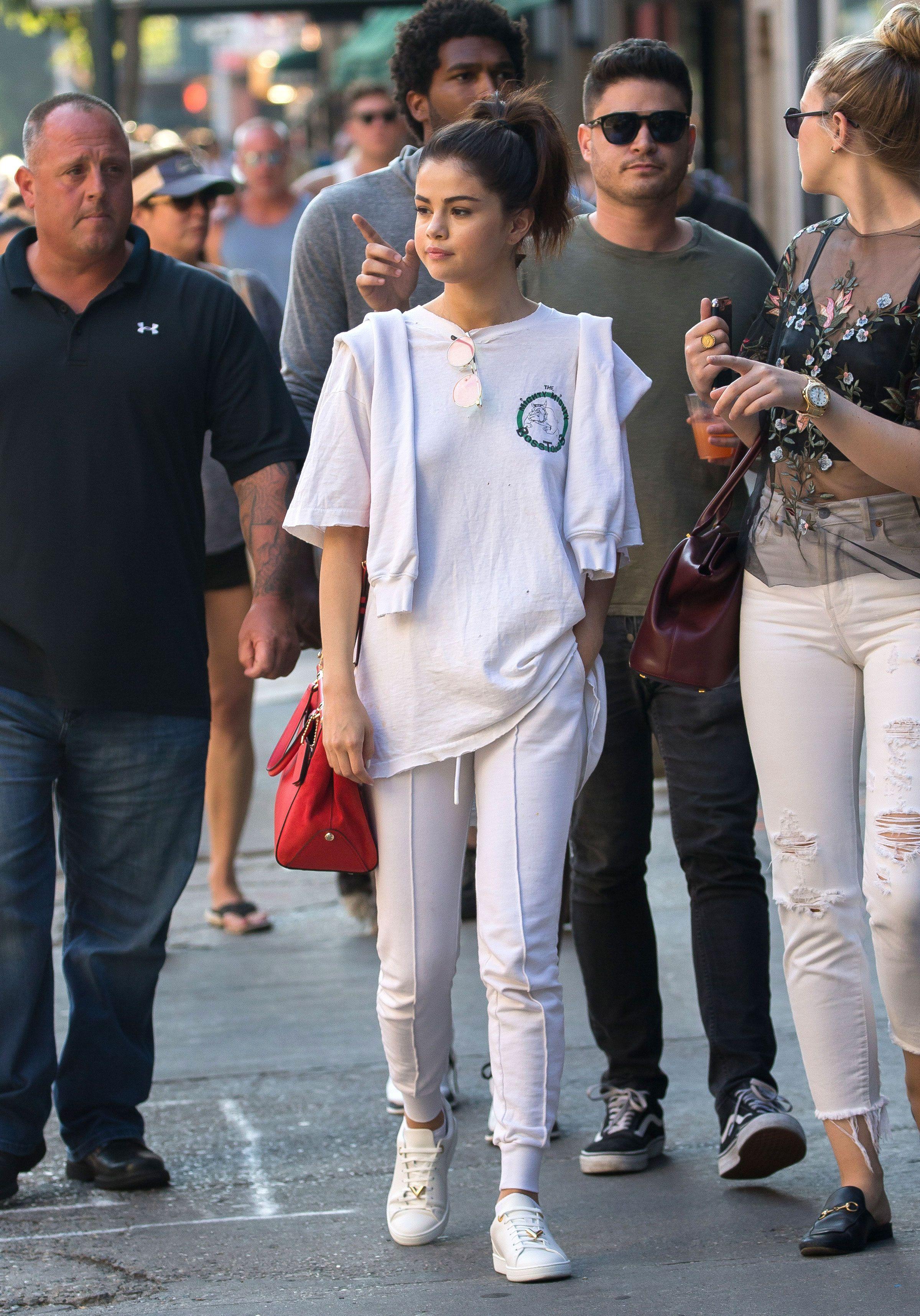 Selena Gomez Spent a Low-Key Weekend in Boston With Her Friends