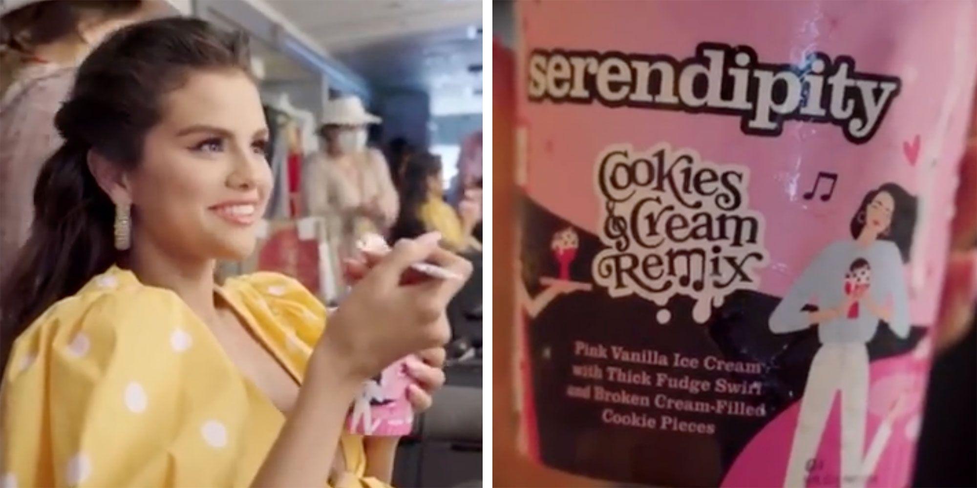 Selena Gomez Releases Serendipity Ice Cream Flavor To Honor Blackpink