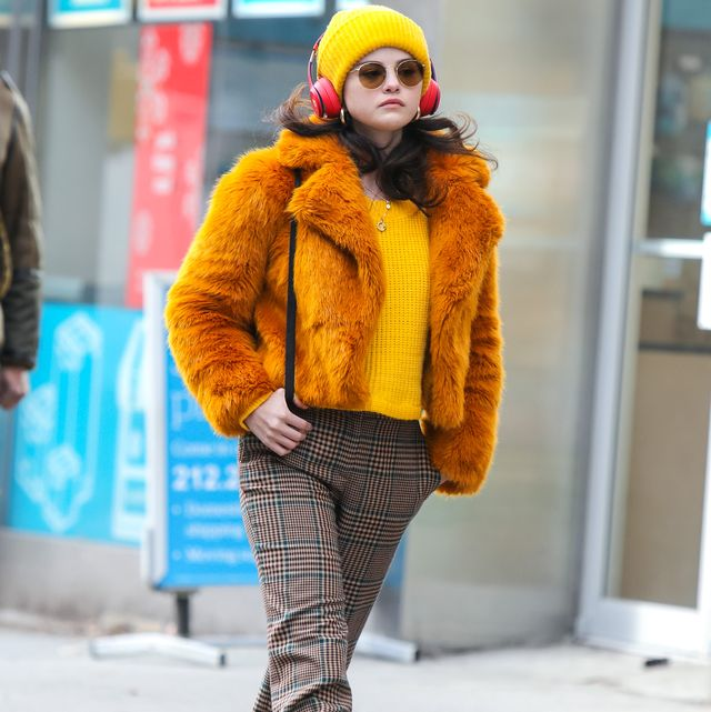celebrity sightings in new york   december 07, 2020
