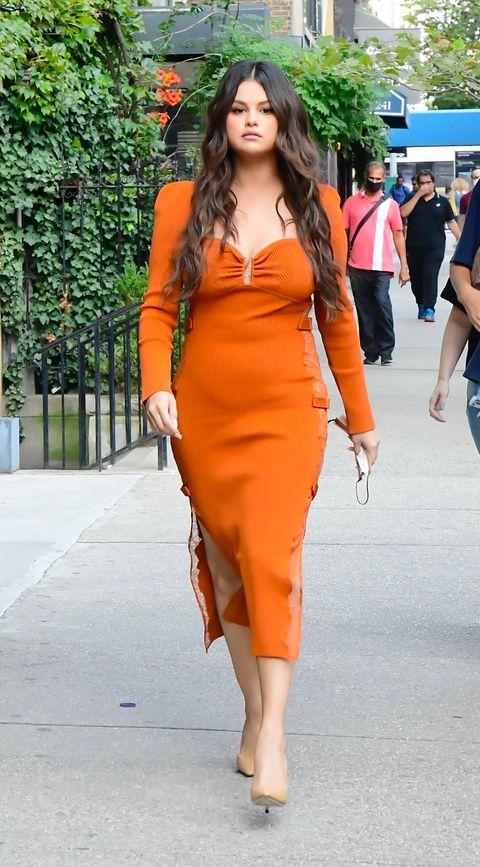 celebrity sightings in New York City on September 08, 2021