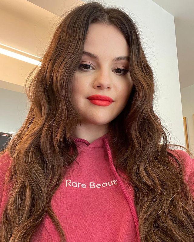 selena gomez rare beauty hoodie