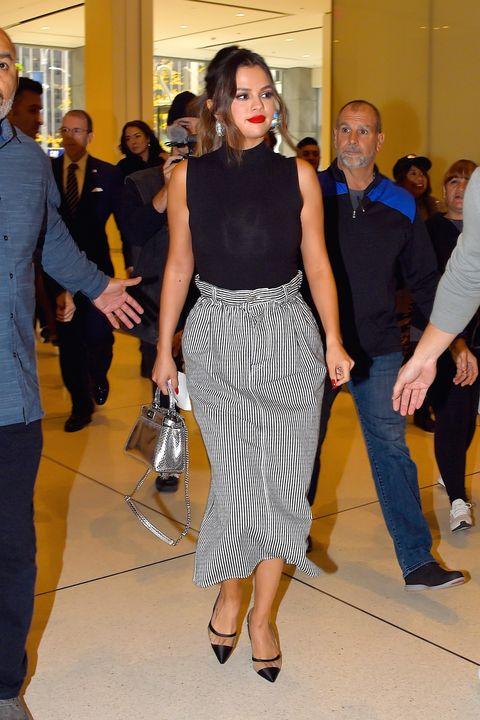Celebrity Sightings in New York City - October 28, 2019