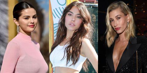 Selena Gomez, Madison Beer, Hailey Baldwin