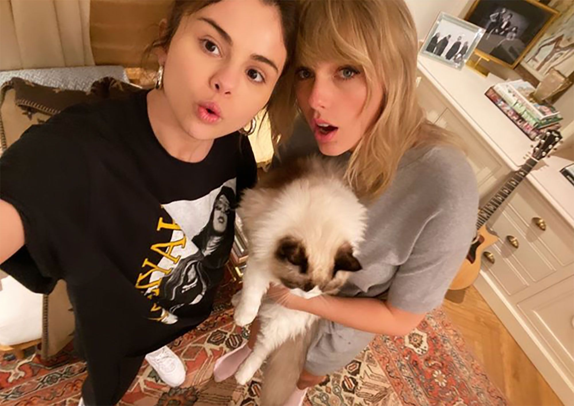 Why Selena Gomez Deleted Her Kim Kardashian Skims Instagram To Support Taylor Swift