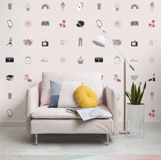 introducing wellness inspired wallpaper for true self care surroundings
