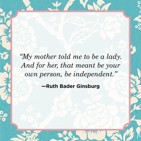 self love quote by ruth bader ginsburg